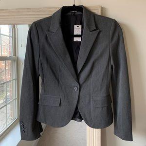 NWT EXPRESS Dark gray blazer (size 0) ✨